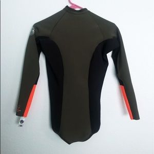 606825e51d Rip Curl Swim - Ripcurl olive green orange   black cheeky wetsuit